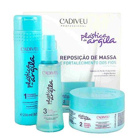 Kit Cadiveu Plástica de Argila - Home Care (3 Produtos)