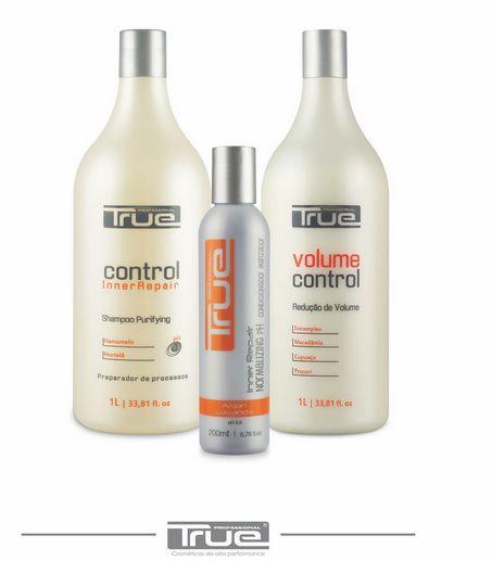 Kit True Brasil Control Redução de Volume (3 Produtos)