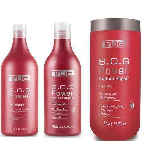Kit True Brasil SOS Power (3 Produtos)