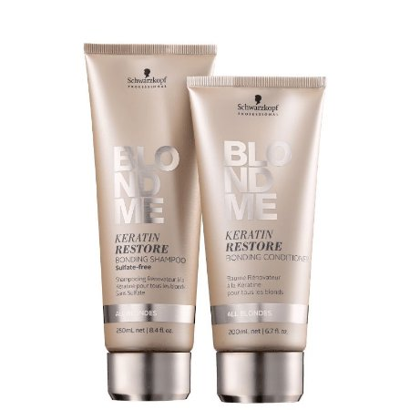 Kit Schwarzkopf BlondMe Cuidado Diário - Shampoo e Condicionador