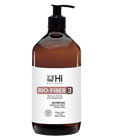 Hi Hair Care Bio Fiber 3 Balance - Máscara Capilar 500g
