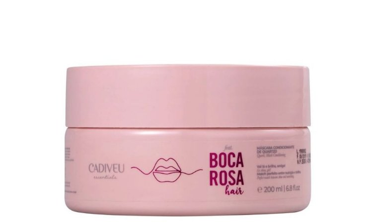Cadiveu Boca Rosa Hair Máscara Condicionante Quartzo 200ml