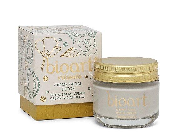 Bioart Creme Facial Detox para Pele Oleosa e Acneica 30g