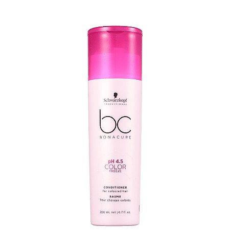 Schwarzkopf BC Bonacure pH 4.5 Color Freeze - Condicionador 200ml