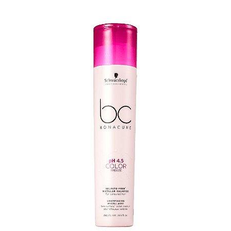 Schwarzkopf BC Bonacure pH 4.5 Color Freeze - Shampoo sem Sulfato 250ml