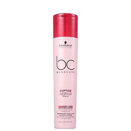 Schwarzkopf BC Bonacure Peptide Repair Rescue Deep Nourishing - Shampoo 250ml