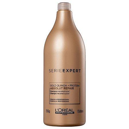 L'Oréal Professionnel Absolut Repair Gold Quinoa + Protein - Shampoo 1500ml