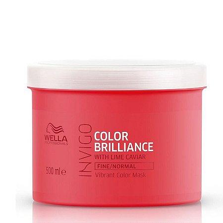 Wella Invigo Color Brilliance - Máscara Capilar 500ml
