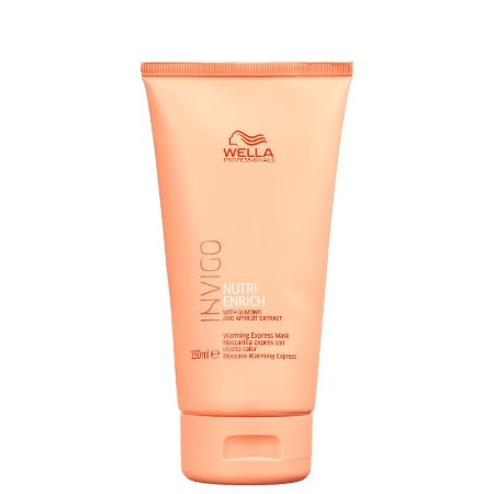 Wella Invigo Nutri-Enrich Warming Express Máscara de Aquecimento 150ml
