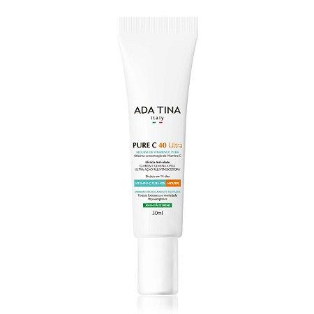 Ada Tina Pure C 40 Ultra - Mousse de Vitamina C Concentrada Anti-Idade 30ml