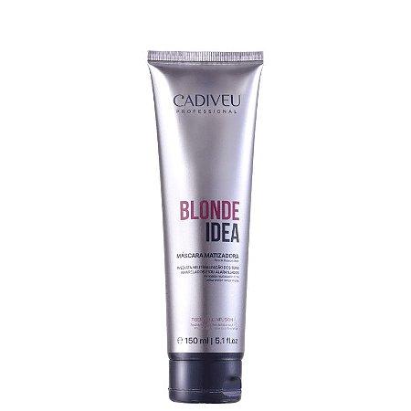 Cadiveu Blonde Idea - Máscara Matizadora 150ml