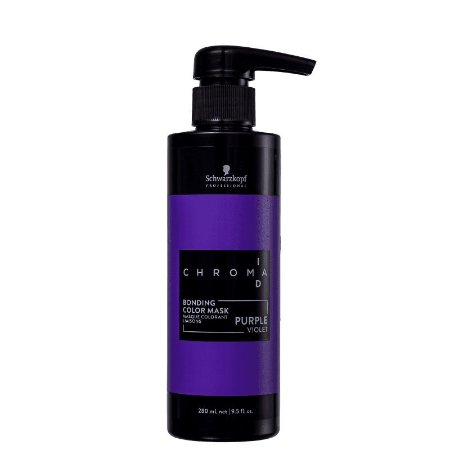 Schwarzkopf Chroma ID Bonding Mask Intensa Purple - Máscara Tonalizante 280ml