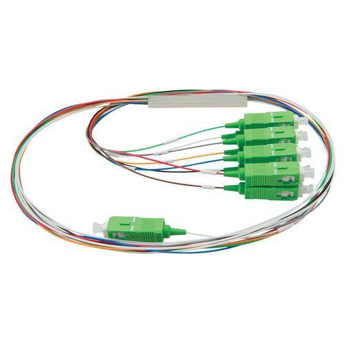 SPLITTER OPTICO 1X8 C/CONECTOR SC/APC RX