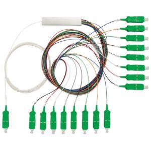 SPLITTER OPTICO 1X16 C/CONECTOR SC/APC (C) DP