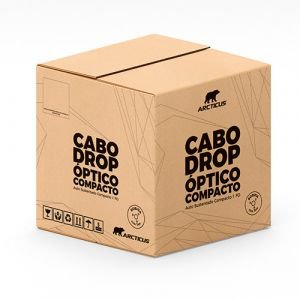 CABO OPTICO FLAT DROP 1FO SM - BOB 1KM ARCTICUS DP