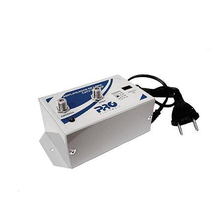 Amplificador De Linha 20Db Pqal-2000