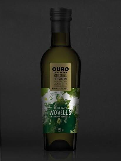 AZEITE DE OLIVA OURO DE SANT'ANA NOVELLO 250 ML - Safra 2018