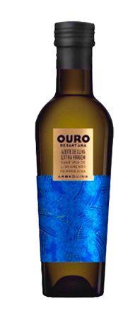 AZEITE DE OLIVA OURO DE SANTANA ARBEQUINA 500 ML - 2017