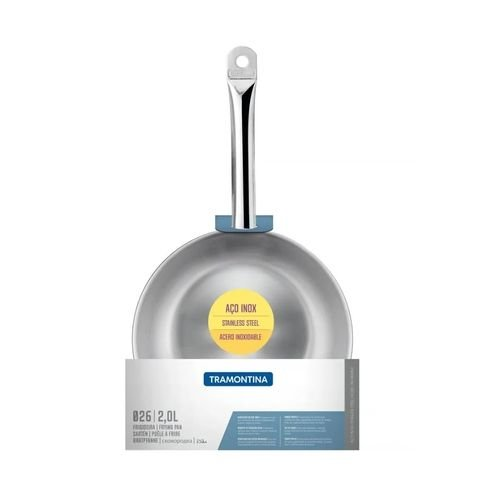 Frigideira Tramontina Aco Inox Profissional 26cm 2l 62635260