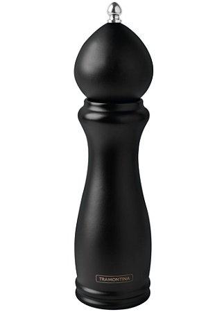 Moedor de Pimenta/Sal Tramontina Black Ceramica Madeira 8''