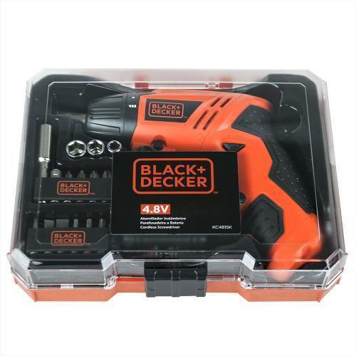 Parafusadeira a bateria 4,8 volts - KC4815K - Black Decker