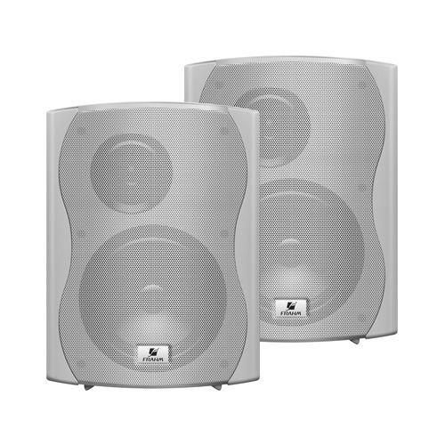 Par Caixa Acústica Para Som Ambiente Ps6 Plus Branca - Frahm