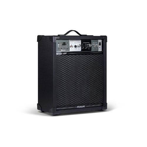 Caixa Multiuso Frahm Mf400 App 80w Rms Usb Sd Bluetooth