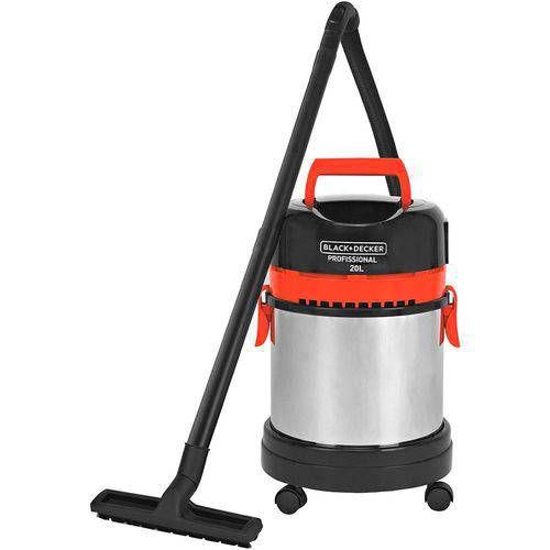 Aspirador De Água E Pó Com Filtro Hepa 1400w Black decker 127v