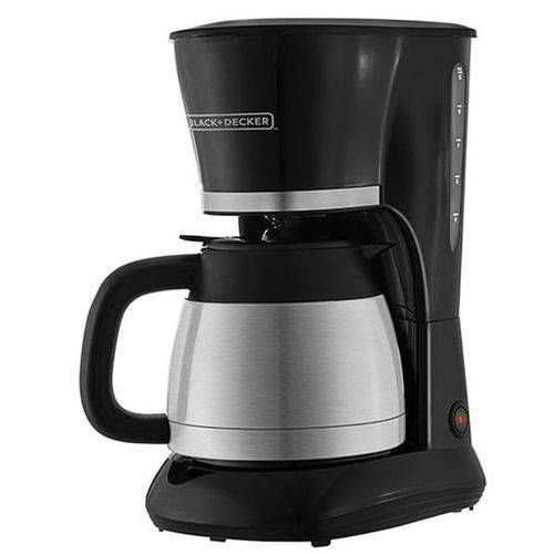 Cafeteira Eletrica Black Decker Cm200ibr 20 Cafes 800w Jarra Inox