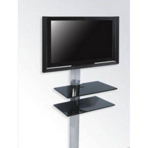 Rack De Tvs - Airon Simply 45/2 Black Glass Black