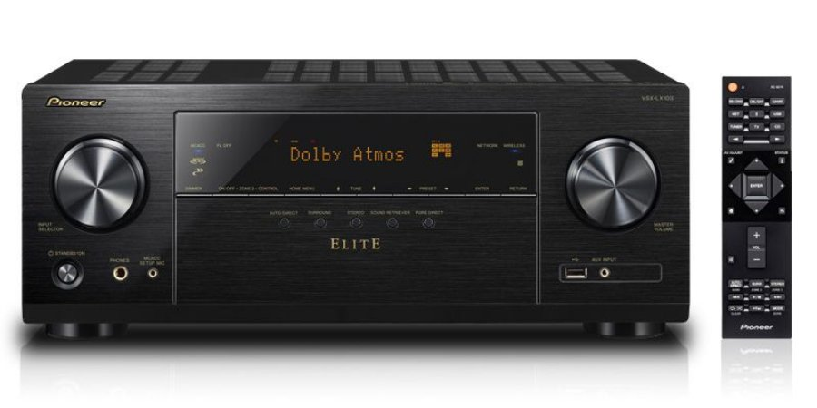 Pioneer Elite Vsx Lx103 4k Ultrahd Hdr10 Bt Zona2 Wifi 110v