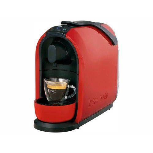 Cafeteira expresso Tres Mimo  Vermelha 127v