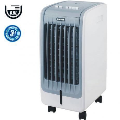 Climatizador Umidificador de Ar Portátil Frio 6,5 L Amvox 3 Velocidades ACL650 127v