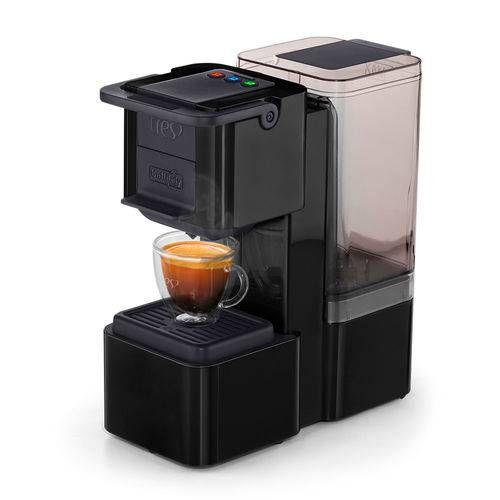 Máquina de Café Expresso e Multibebidas Automática TRES Pop Plus Preta 127v