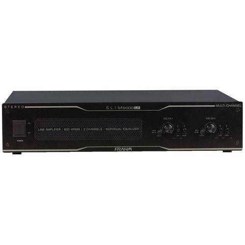 Amplificador 600w Slim 5000 La Frahm Bivolt