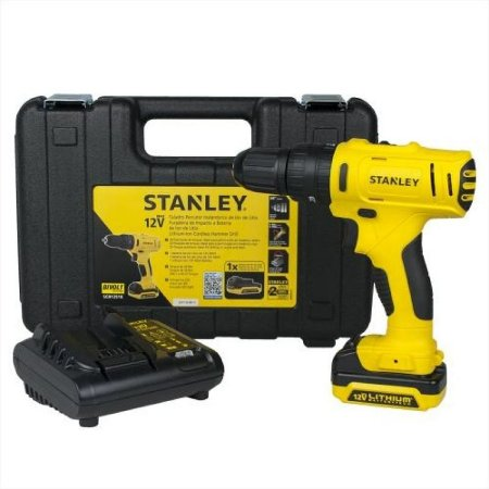 Furadeira Parafusadeira Bateria 12v Stanley Sch12s1k