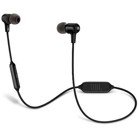 Fone de ouvido In-Ear Bluetooth Jbl E25BT com microfone e controle