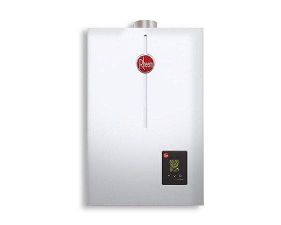 Aquecedor De Água A Gás 22 Litros Por Minuto Glp, Digital - Rheem Bivolt