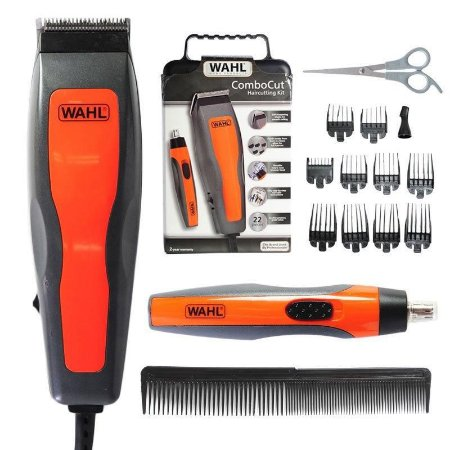 Kit Aparador de Cabelo Wahl ComboCut Haircutting 22 pecas 127v
