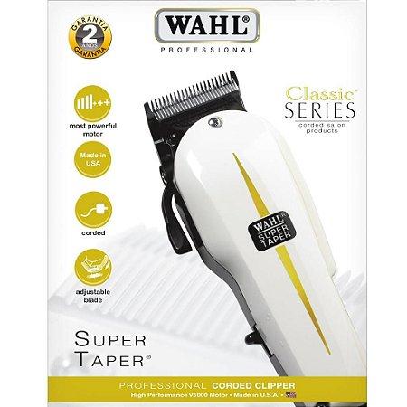 Máquina De Cortar Cabelo Super Taper  Wahl 127v