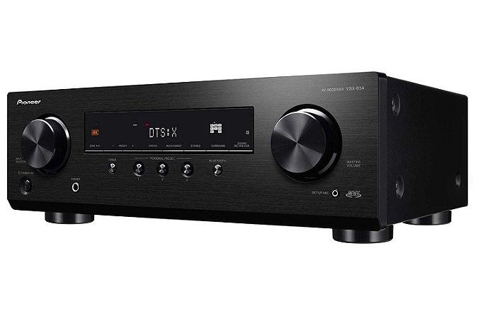 Receiver Pioneer VSX-834 7.2 Ch Dolby Atmos  DTS:X 4K 127v