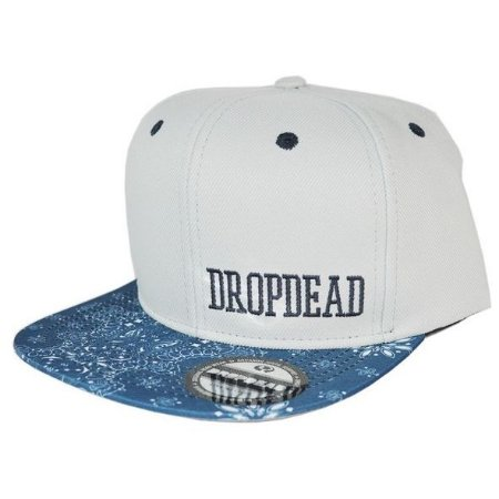 BONÉ DROP DEAD SPENCER CINZA SNAPBACK