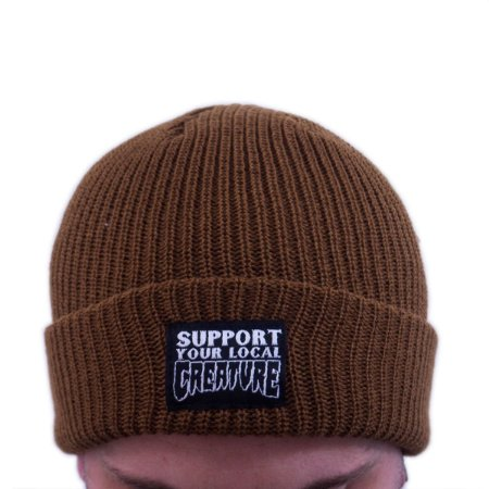 TOUCA CREATURE SUPPORT BEANIE BROWN