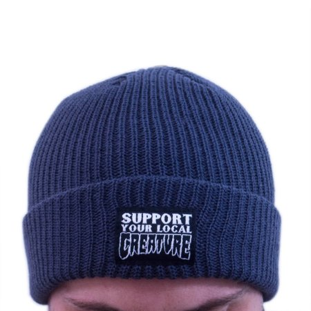 TOUCA CREATURE SUPPORT BEANIE CHARCOAL