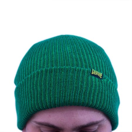 TOUCA CREATURE DOUBLE VISION BEANIE GREEN