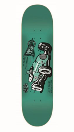 SHAPE DROP DEAD RIDE FASTEST GREEN