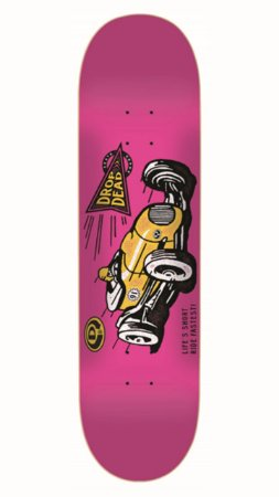 SHAPE DROP DEAD RIDE FASTEST PINK