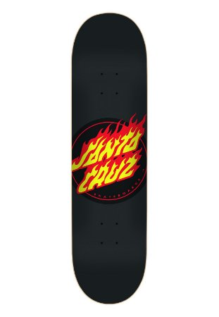 SHAPE SANTA CRUZ FLAME DOT BLACK