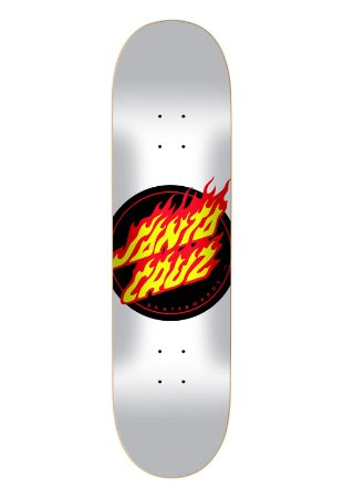 SHAPE SANTA CRUZ FLAME DOT WHITE