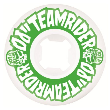 RODA OJ 54MM TEAM RIDER EZ EDGE INSANEATHANE GREEN 101A